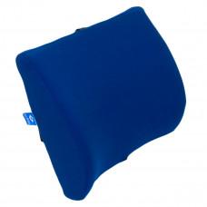 CC-160305 Подушка под спину LENDENKISSEN,HILBERD, синяя,  35*33*13/6см