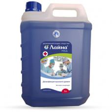 Лайна-мед дезинфицирующее средство концентрированный раствор 5 литров
