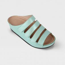 Обувь ортопедическая малосложная, медицинская, увеличенная полнота, Мята LM ORTHOPEDIC, женская LM-703.009