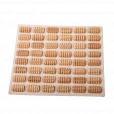 Коврик массажный, с деревянными элементами, КМ 1102, Тимбэ Продакшен