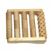 """Массажер для ног """"Счеты"""", комбинированный, деревянный (одна секция), МА4123, Тимбэ Продакшен"""