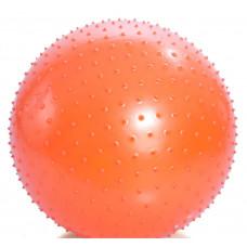 Гимнастический мяч Тривес М-175 игольчатый, 75см