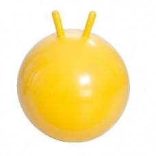 Гимнастический мяч Тривес М-345 детский с рожками, 45см