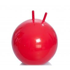 Гимнастический мяч Тривес М-355 детский с рожками, 55см