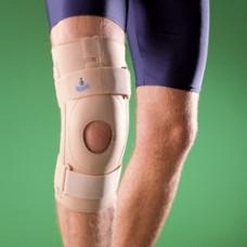 Бандаж на коленный сустав (наколенник) полужесткий с кольцом 1438, OPPO