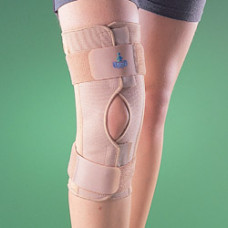 Бандаж на коленный сустав (наколенник) разъемный, полужесткий 2032, OPPO