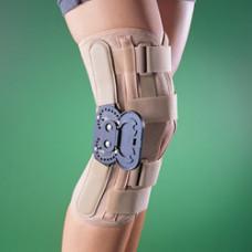 Бандаж на коленный сустав (наколенник) разъемный, жесткий, регулируемый 2137, OPPO