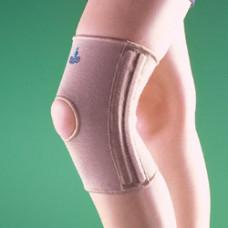 Бандаж на коленный сустав (наколенник) укороченный, полужесткий 2233, OPPO