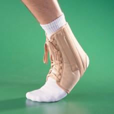 Бандаж на голеностопный сустав полужесткий на шнуровке 4007, OPPO