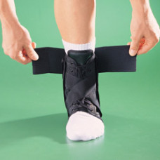 Бандаж на голеностопный сустав усиленный на шнуровке 4106, OPPO