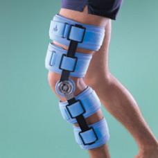 Бандаж на коленный сустав (наколенник) регулируемый, жесткий, высота 51 см 4139, OPPO