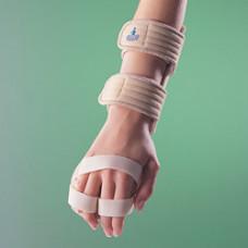 Бандаж на лучезапястный сустав с фиксацией пальцев, правый / левый 4182, OPPO