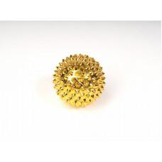 FOSTA Аппликатор акупунктурный в виде шара (с магнитом и шипами) золотой F 0116