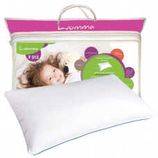 Подушка классическая ортопедическая с эффектом памяти детская 35х55 см, Luomma, Lum F-513