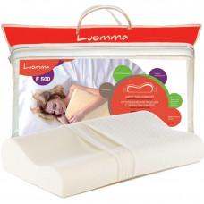 Подушка с эффектом памяти Luomma. 30х48 см. Валики 7 и 10 см LUMF-500