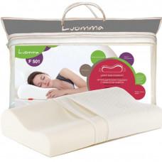 Подушка с эффектом памяти Luomma 35х56 см. Валики 10 и 12 см LUMF-501