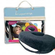 Подушка ортопедическая с эффектом памяти для путешествий Luomma LUMF-508