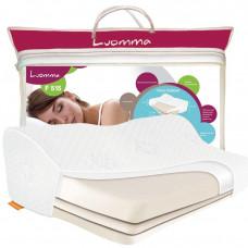 Подушка ортопедическая с эффектом памяти трехслойная Luomma LUMF-515