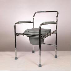Кресло-туалет складное со спинкой Ergoforce E 0801