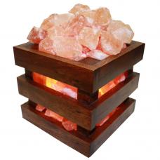 Солевая лампа - абажур Куб