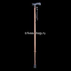Трость TRIVES (с Т-образной ручкой и ремешком, цвет бронза) CA833L2