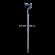 Трость TRIVES (с ортопедической ручкой, цвет серебро) CA833L4