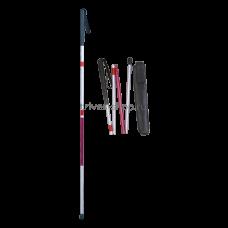 Трость TRIVES (тактильная,складная с ремешком) CA853L