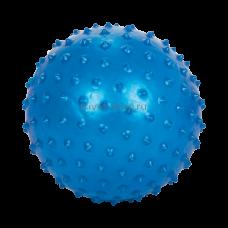 Мяч для занятий лечебной физкультурой (масссажный, 30 см., голубой) без насоса М-130, Тривес