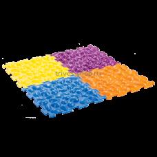 """Массажный коврик,""""Цветные камешки"""" (жесткий) М-516, Тривес"""