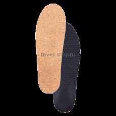Стельки ортопедические каркасные, с антискользящим нижним покрытием, верхнее покрытие - тонкий материал на основе натуральной пробки СТ-143.3
