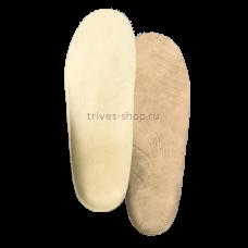 """Стельки ортопедические детские корригирующие с высокими жесткими бортиками, покрытие - бежевый """"микролайнер"""" СТ-186.1, Тривес"""