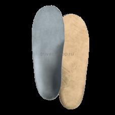 """Стельки ортопедические детские корригирующие с высокими жесткими бортиками, покрытие - серый """"микролайнер"""" СТ-186.2, Тривес"""
