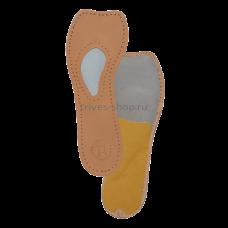 Полустельки ортопедические для модельной обуви на высоком каблуке (от 7 см) (кожа) СТ-231, Тривес