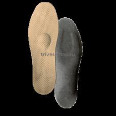 Стельки ортопедические корригирующие на каркасе с опорной площадкой для 1 и 5-го пальцев стопы, разгружающий межстелечный слой, покрытие - On Steam СТ-402, Тривес
