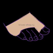 Эластичный бандаж с силиконовой вставкой для передней части стопы СТ-94, Тривес