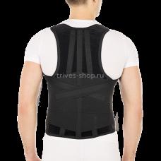 Корректор осанки ортопедический с ребрами жесткости усиленный Т.50.25 (Т-1775/1), Тривес