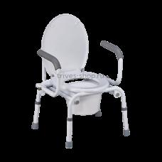 Кресло-туалет NOVA (с опускающимися подлокотниками) TN-408