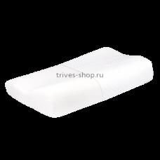 Подушка ортопедическая под голову для взрослых с эффектом памяти ТОП-100, Тривес
