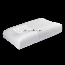 Подушка ортопедическая под голову с эффектом памяти Т.142 (ТОП-142), Тривес